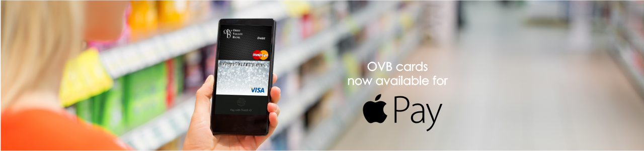OVB cards are now available for Apple Pay click for details