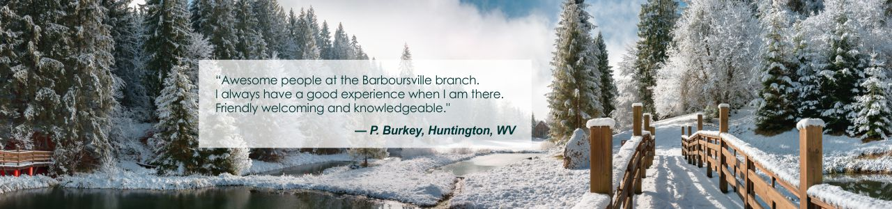 Customer testimonial about service at OVB Barboursville