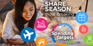 create spending targets