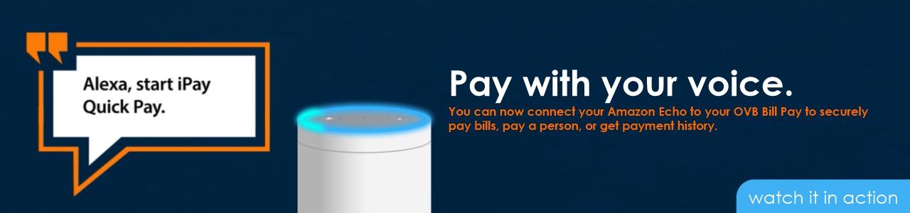 voice bill pay with alexa